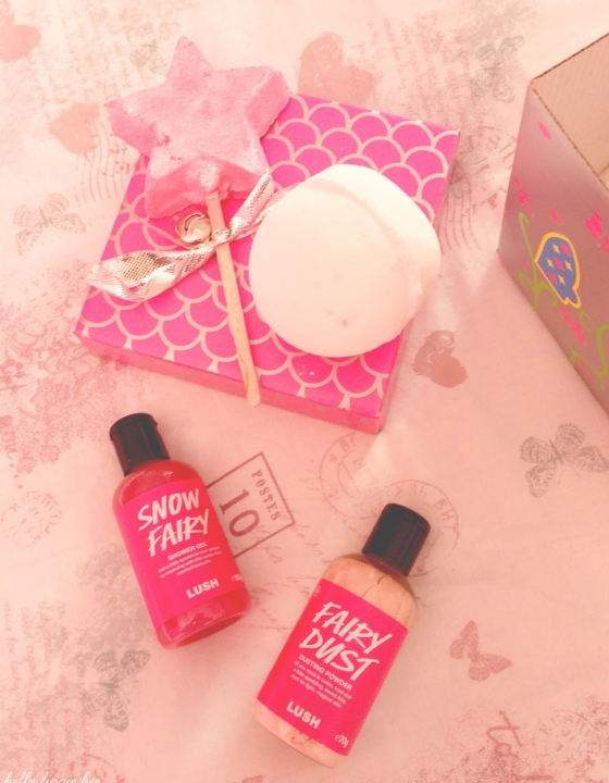 Review: Lush Snow Fairy's Castle Gift Box