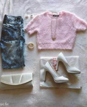 One Item Five Ways: Acid-Washed Jeans
