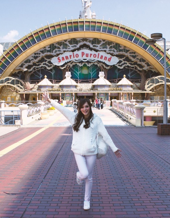 Chilling with Hello Kitty – My Trip to Sanrio Puroland!