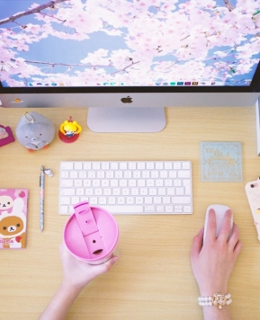 Cute Ways to Transform Your Desk Space (+ Giveaway!)