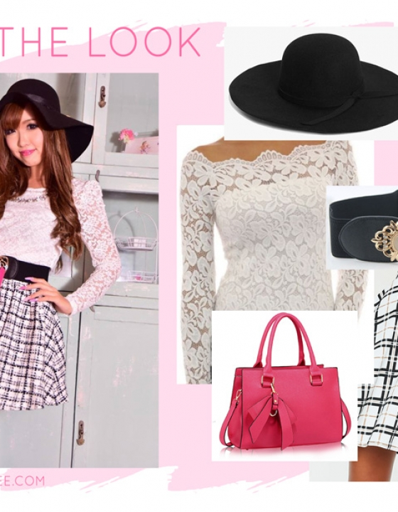 Get the Look: Ane Agejo at Work