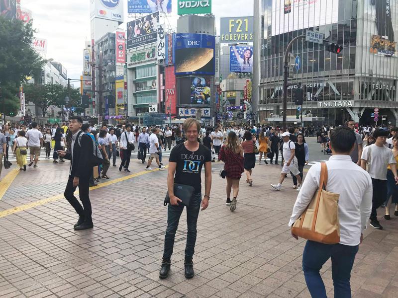 Gyaruo Wes in Tokyo, Japan