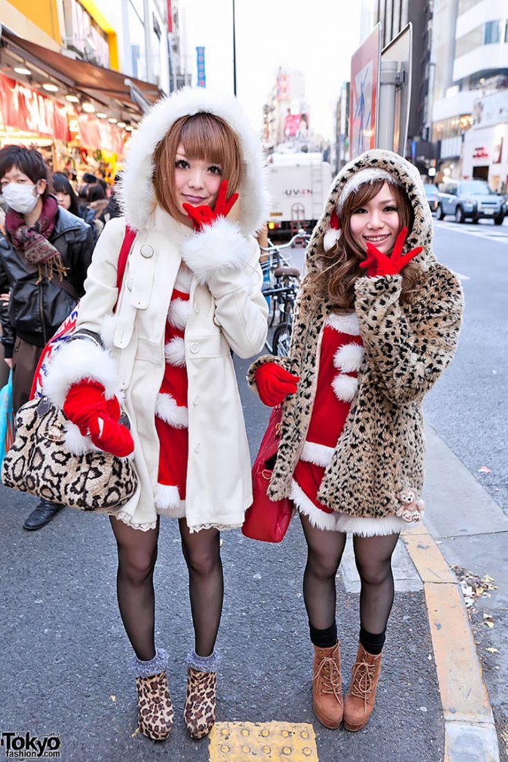 tokyofashion christmas gyaru inspiration