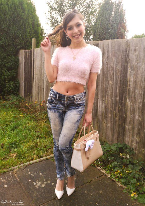 Pink onee gyaru outfit by hellolizziebee