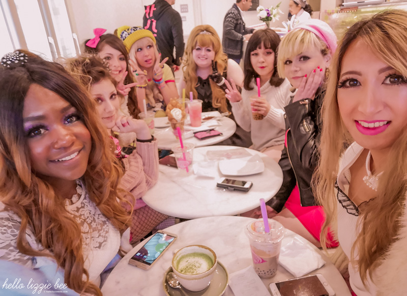UK gyaru galentine's day meet in Birmingham