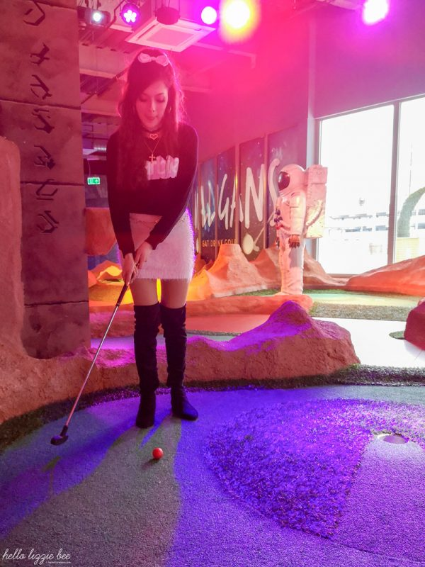 Mr Mulligan crazy golf course