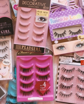 Gyaru False Lashes + Where to Buy Them