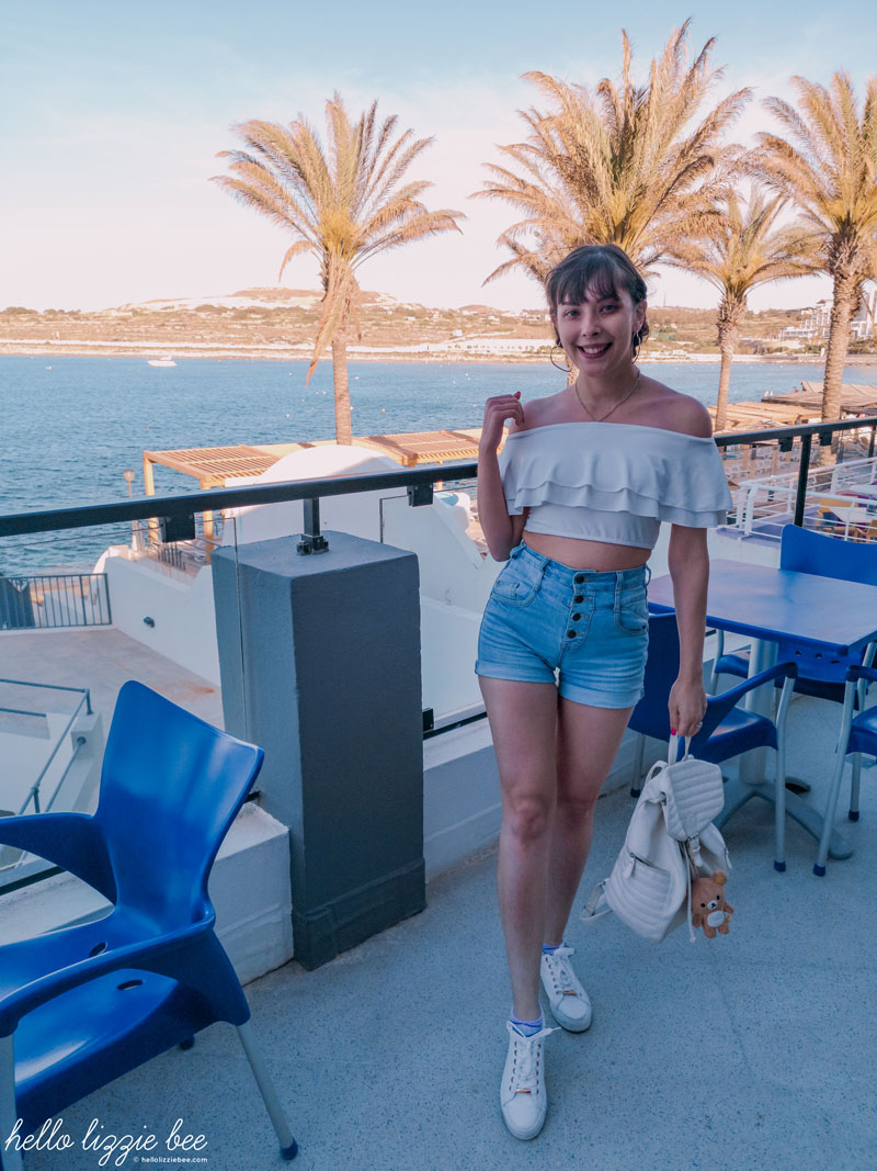 Casual outfit in Malta