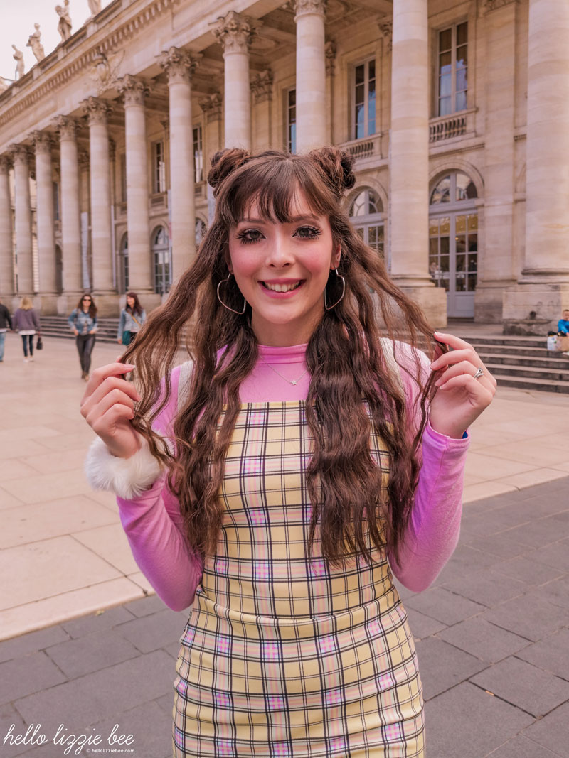 Cher Horowitz inspired outfit with a gyaru twist